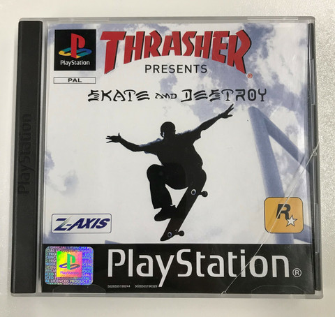 Thrasher Presents Skate And Destroy (PS1)