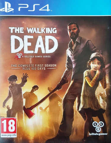 The Walking Dead: The Complete 1st Season + 400 Days (PS4)