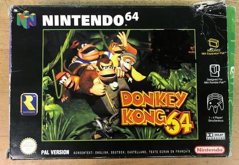 Donkey Kong 64 (N64)
