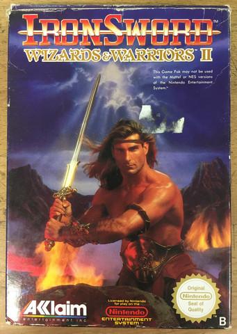 Iron Sword Wizards and Warriors II (NES)