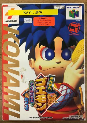 Mystical Ninja Starring Goemon (N64 JAP)