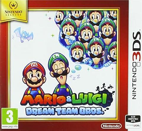 Mario  & Luigi Dream Team Bros. (3DS)