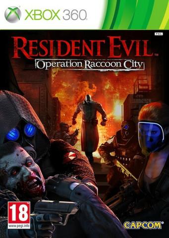 Resident Evil Operation Raccoon City (X360)