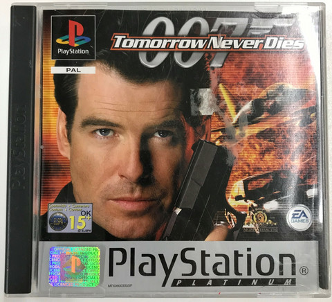 007 Tomorrow Never Dies (PS1 Platinum)