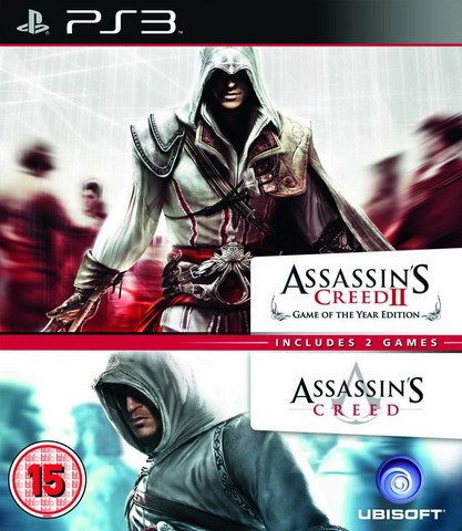 Assassin's Creed 1 + 2 Double Pack (PS3)