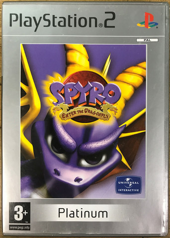 Spyro: Enter The Dragonfly (PS2 Platinum)