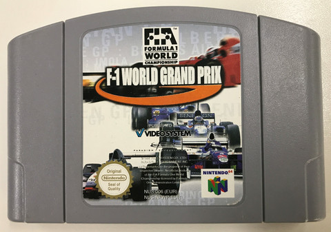 F1 World Grand Prix (N64 PAL)