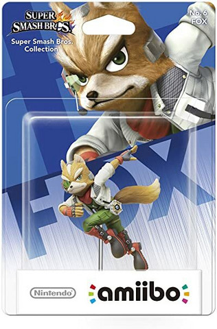 amiibo Fox (Super Smash Bros Collection)