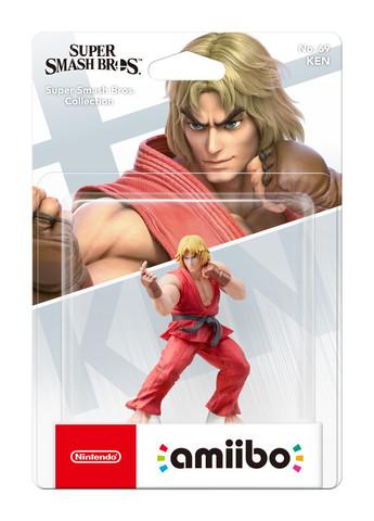 amiibo Ken (Super Smash Bros Collection)