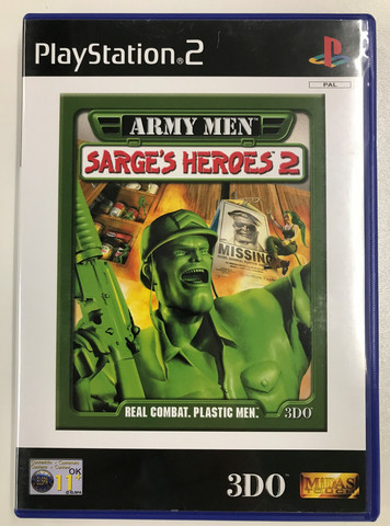 Army Men - Sarge's Heroes 2 (PS2)