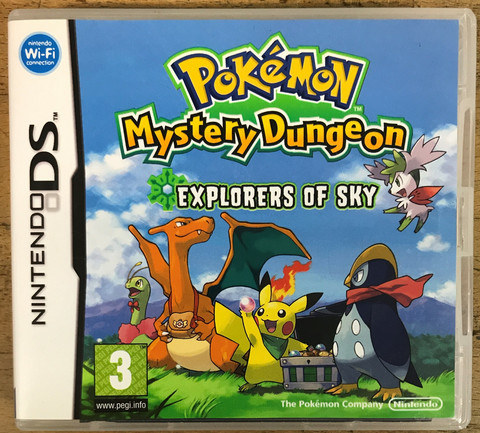 Pokemon Mystery Dungeon: Explorers of Sky (NDS)