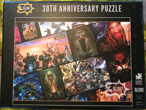 Blizzard 30th Anniversary Exclusive Puzzle 1000pcs