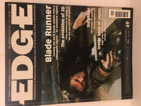 Edge-Pelilehti September 1997