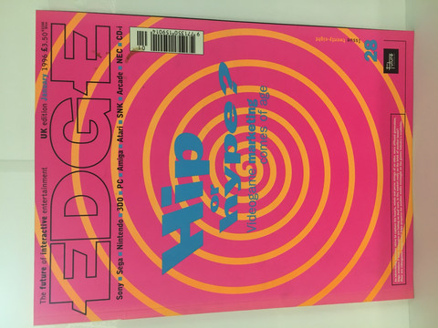 Edge-Pelilehti January 1996