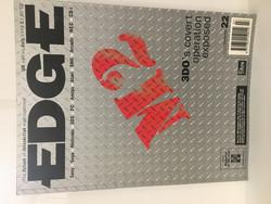 Edge-Pelilehti July 1995