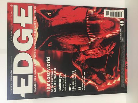 Edge-Pelilehti August 1997
