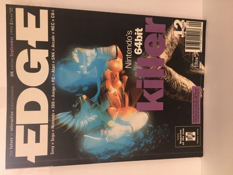 Edge-Pelilehti September 1994