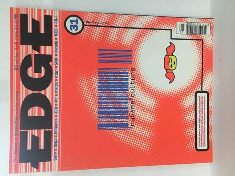 Edge-Pelilehti April 1996
