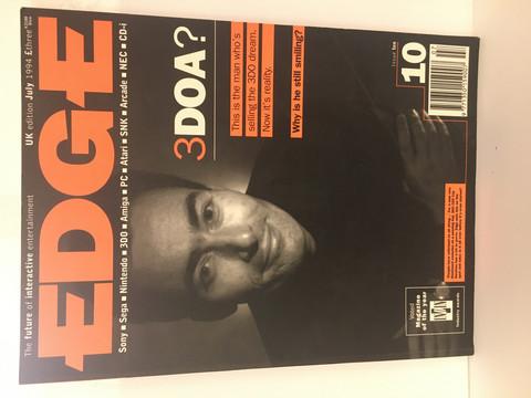 Edge-Pelilehti July 1994