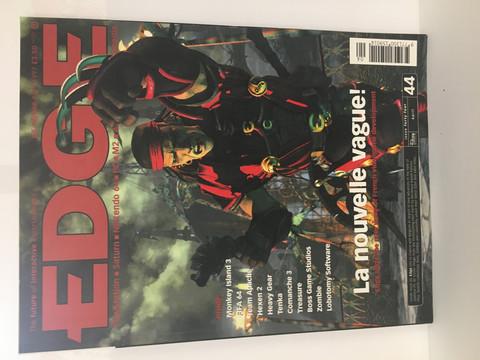 Edge-Pelilehti April 1997