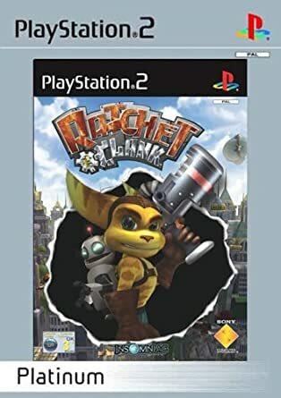 Ratchet & Clank (PS2 Platinum)