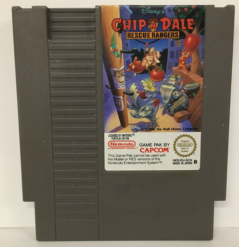 Chip 'n Dale Rescue Rangers (NES PAL B)
