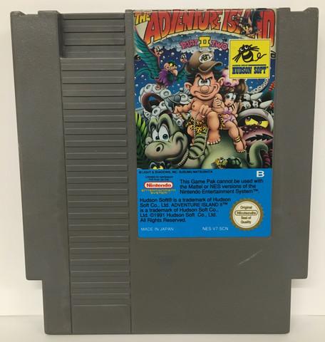 Adventure Island II (NES PAL B)