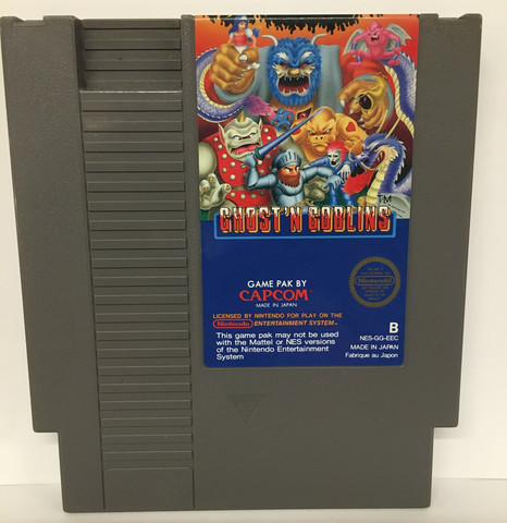 Ghost 'n Goblins (NES PAL B)