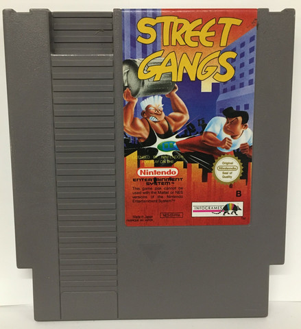 Street Gangs (NES PAL B)