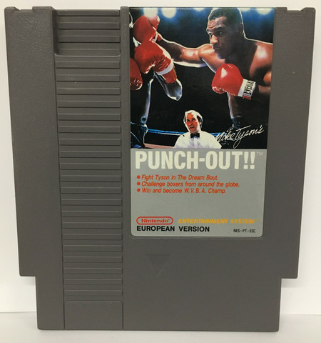 Mike Tyson's Punch-Out (NES PAL B)