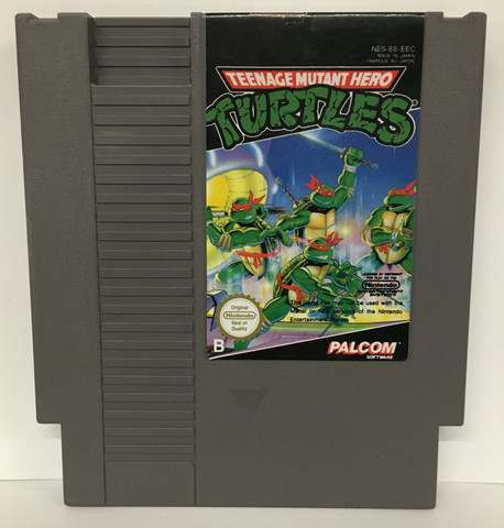 Teenage Mutant Hero Turtles (NES PAL B)