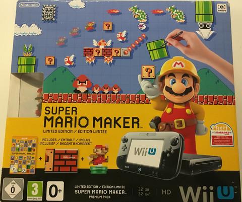 Wii U Premium 32Gb Super Mario Maker bundle