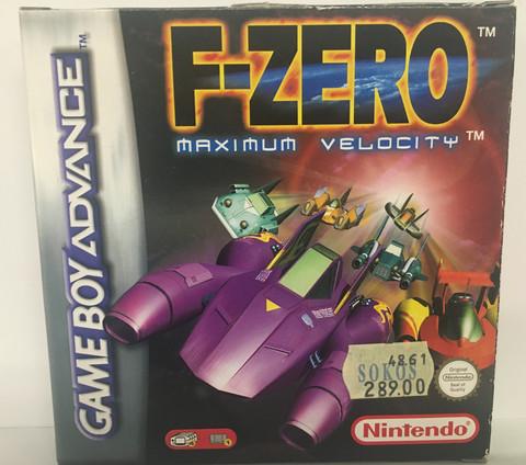 F-Zero Maximum Velocity (GBA)