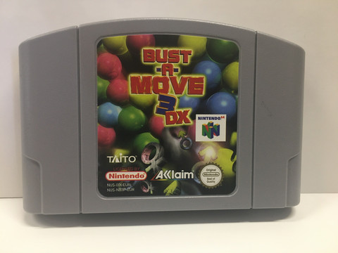 Bust-A-Move 3 DX (N64)