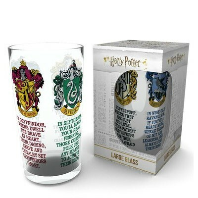 Iso juomalasi - Harry Potter House Crests