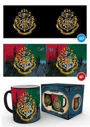 Väriä vaihtava muki - Harry Potter Hogwarts Crest