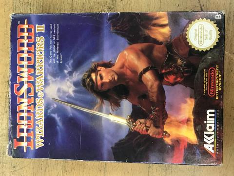 Iron Sword (NES PAL-B/SCN)