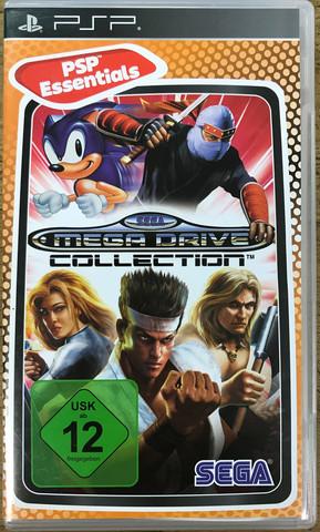 Sega Mega Drive Collection (PSP Essentials)