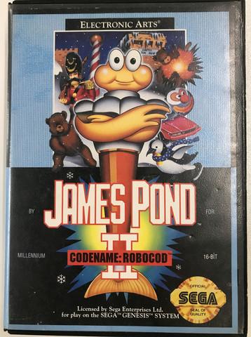 James Pond II Codename: Robocod (Genesis/MD)