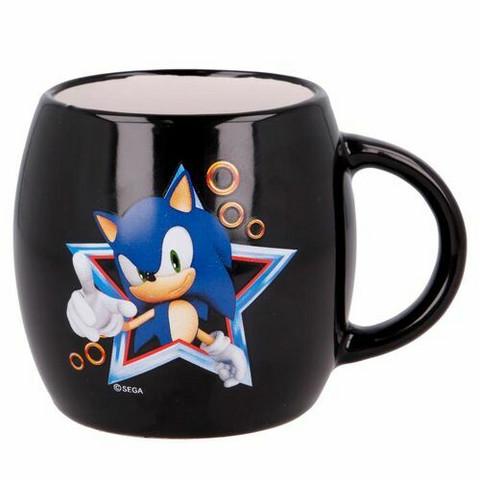 Sonic keraaminen muki lahjapakkauksessa