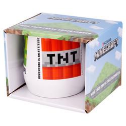 Minecraft keraaminen muki lahjapakkauksessa