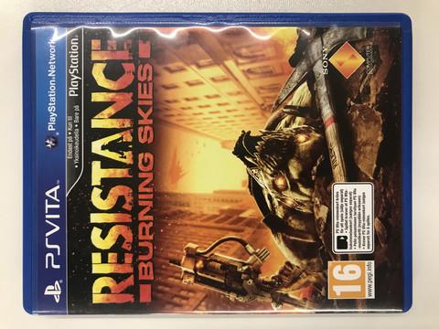 Resistance: Burning Skies (PSV)