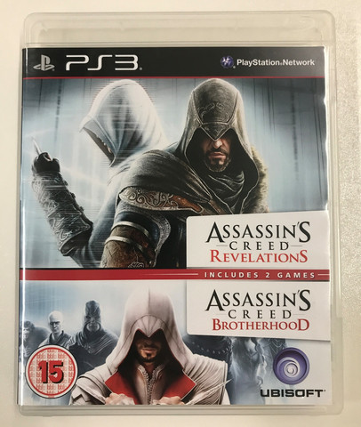 Assassin's Creed Double Pack: Revelations & Brotherhood (PS3)