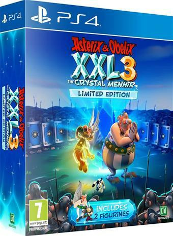 Asterix & Obelix XXL3 - The Crystal Menhir Limited Edition (PS4)