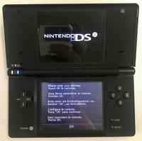 Nintendo DSi -konsoli musta