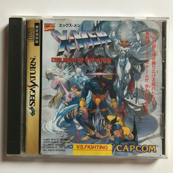 X-MEN Children of Atom (Saturn JAP)