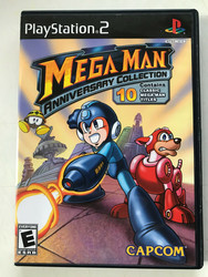 Megaman Anniversary Collection (PS2 USA NTSC)