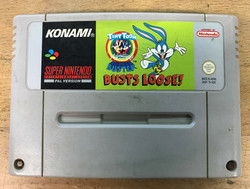 Tiny Toons: Buster Busts Loose (SNES loose)