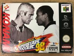 International Superstar Soccer 98 (N64)