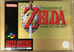 Zelda: A Link to the Past (PAL SNES)